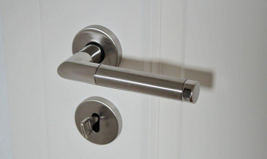 Comment remplacer sa poignée de porte?