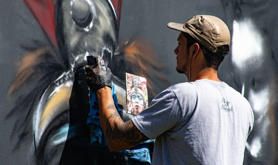 En quoi consiste le style Street Art dans la décoration murale?